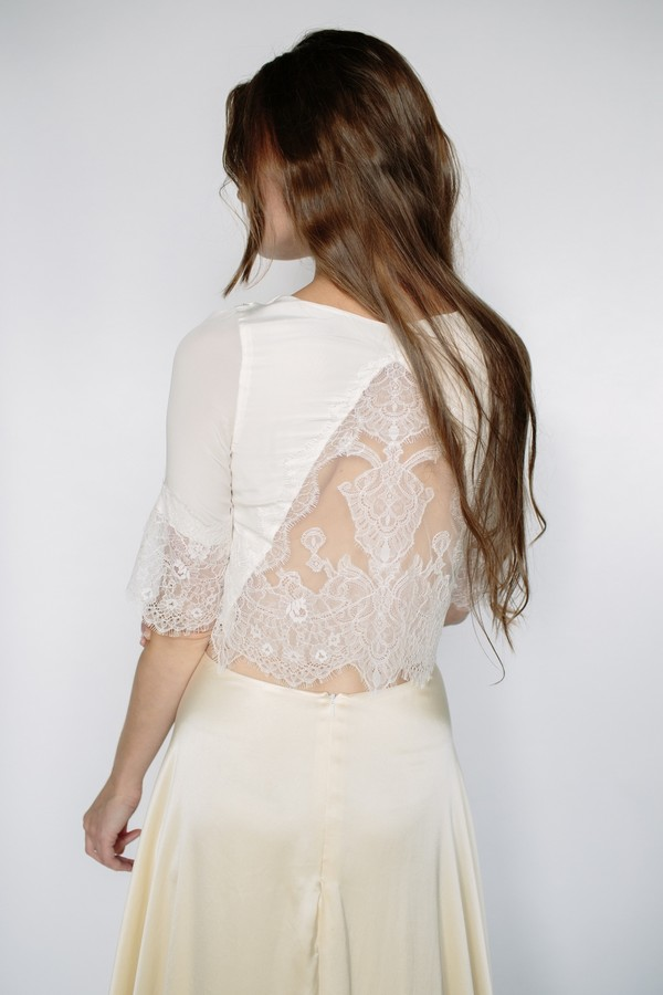 Sofia Top from the Sienna Von Hildemar 2018 Bridal Collection