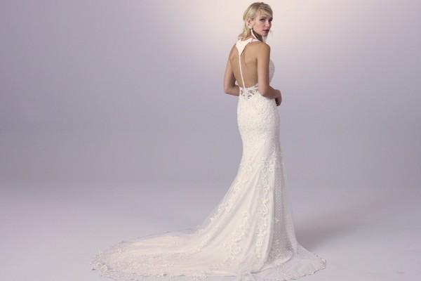 Sottero and Midgley Khloe 2018 Bridal Collection - Back of Khloe Wedding Dress