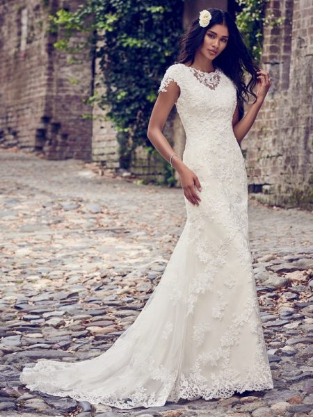Stacey Wedding Dress from the Maggie Sottero Emerald 2018 Bridal Collection