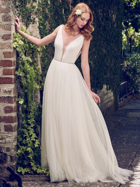 Tamar Wedding Dress from the Maggie Sottero Emerald 2018 Bridal Collection