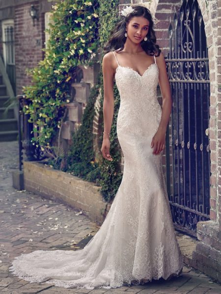 Teresa Wedding Dress from the Maggie Sottero Emerald 2018 Bridal Collection