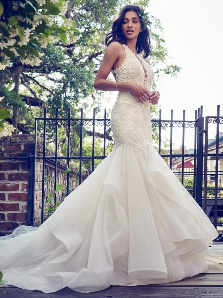 Veda Wedding Dress from the Maggie Sottero Emerald 2018 Bridal Collection