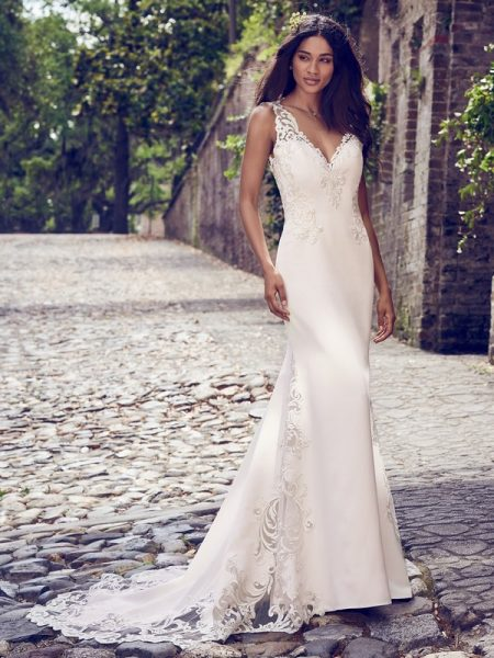 Veronica Wedding Dress from the Maggie Sottero Emerald 2018 Bridal Collection
