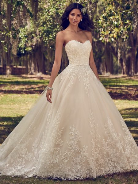 Viola Wedding Dress from the Maggie Sottero Emerald 2018 Bridal Collection