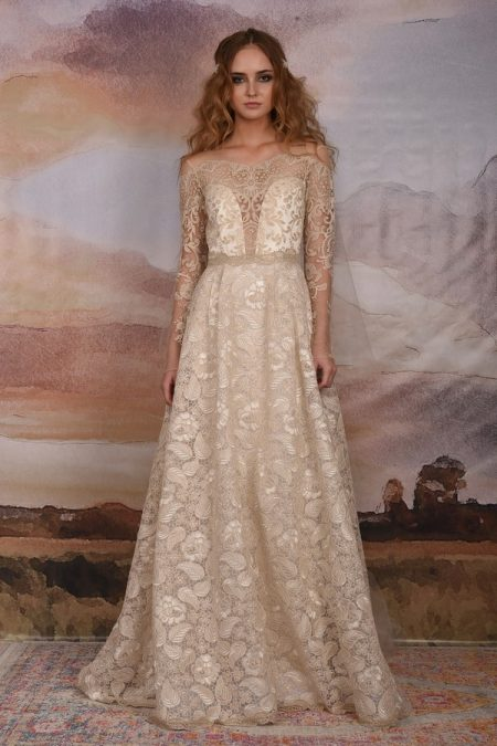 Voyage Wedding Dress from the Claire Pettibone Vagabond 2018 Bridal Collection