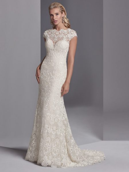 Zayn Rose Wedding Dress from the Sottero and Midgley Khloe 2018 Bridal Collection