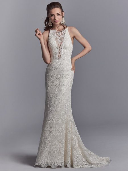 Zayn Wedding Dress from the Sottero and Midgley Khloe 2018 Bridal Collection
