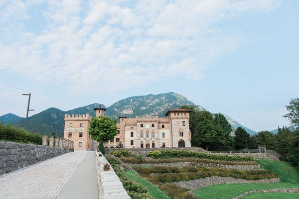 Count Ceconi Castle in Italy