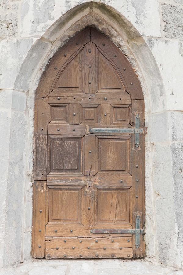 Count Ceconi Castle door