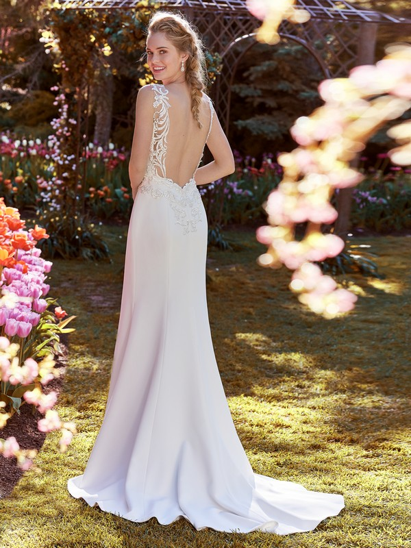 Back of Ada Wedding Dress from the Rebecca Ingram Juniper 2018 Bridal Collection