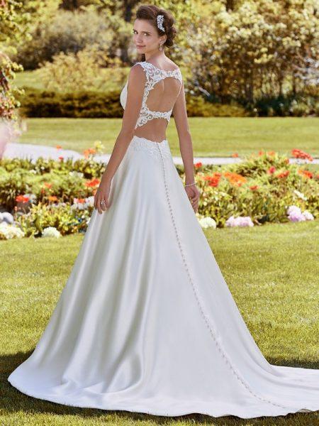Back of Brooke Wedding Dress from the Rebecca Ingram Juniper 2018 Bridal Collection