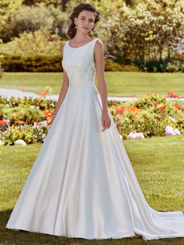 Brooke Wedding Dress from the Rebecca Ingram Juniper 2018 Bridal Collection