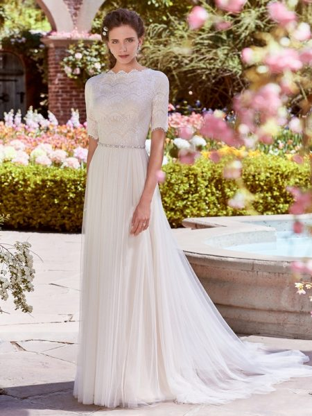Cathy Anne Wedding Dress from the Rebecca Ingram Juniper 2018 Bridal Collection