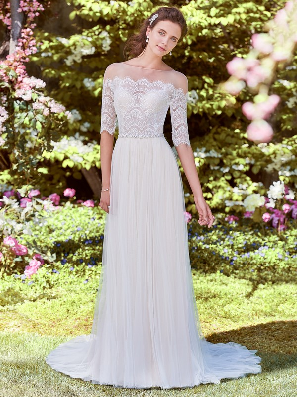 Cathy Wedding Dress from the Rebecca Ingram Juniper 2018 Bridal Collection