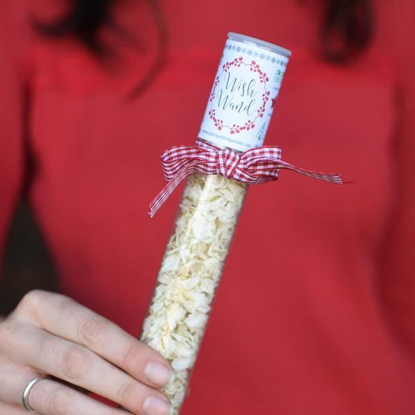 Christmas Wish Wand from Shropshire Petals
