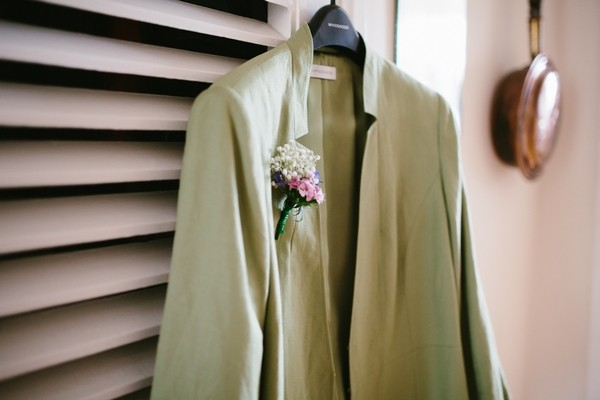 Corsage on Jacket