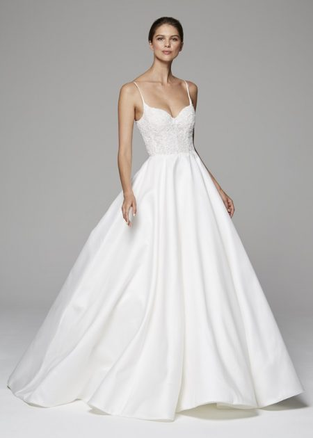 Demi Wedding Dress from the Anne Barge Fall 2018 Bridal Collection