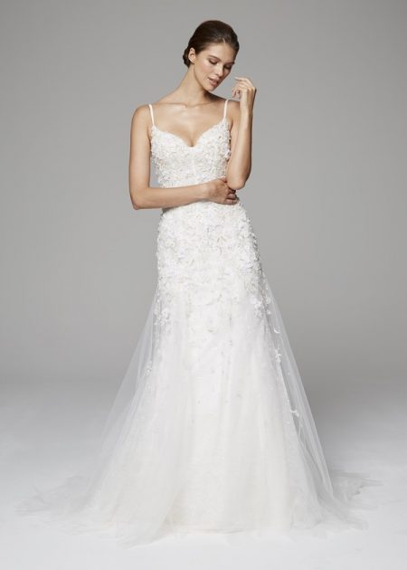 Gwendolyn Wedding Dress from the Anne Barge Fall 2018 Bridal Collection