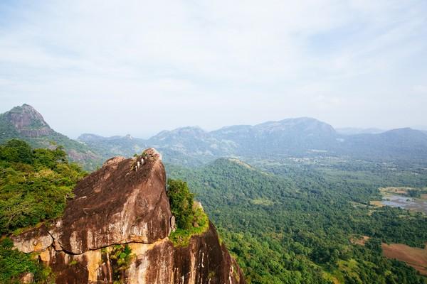Hiking from Gal Oya Lodge, Sri Lanka, on Safari Honeymoon
