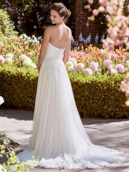 Back of Hilary Wedding Dress from the Rebecca Ingram Juniper 2018 Bridal Collection