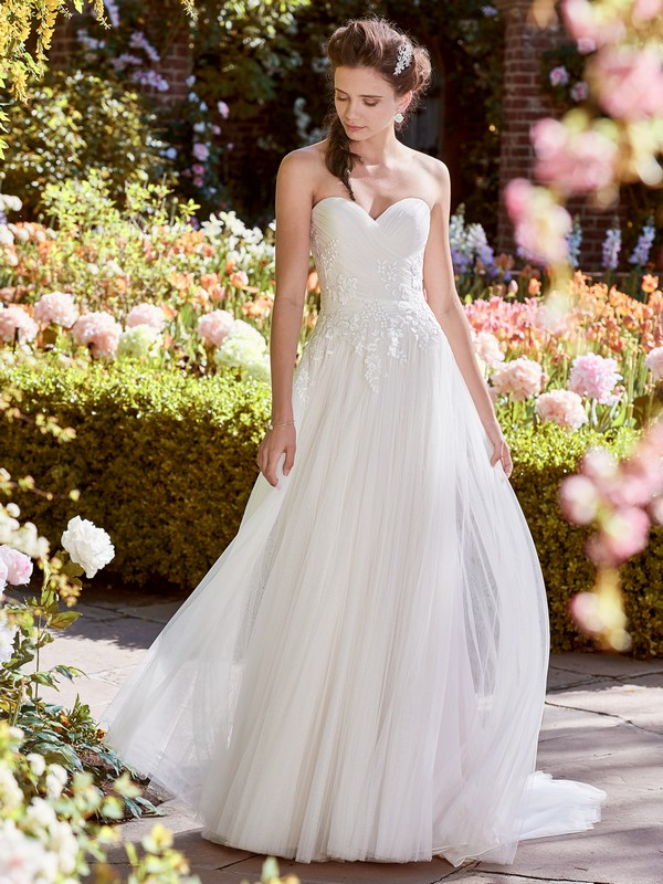 Hilary Wedding Dress from the Rebecca Ingram Juniper 2018 Bridal Collection
