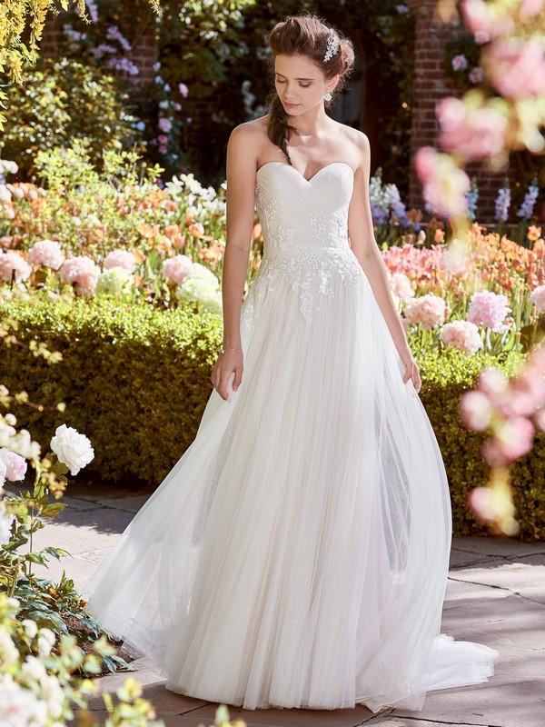 Hilary Wedding Dress from the Rebecca Ingram Juniper 2018 Bridal Collection