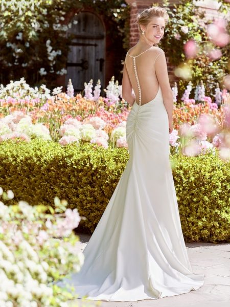 Back of Ingrid Wedding Dress from the Rebecca Ingram Juniper 2018 Bridal Collection
