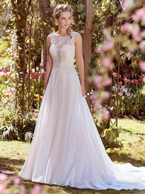 Joyce Wedding Dress from the Rebecca Ingram Juniper 2018 Bridal Collection