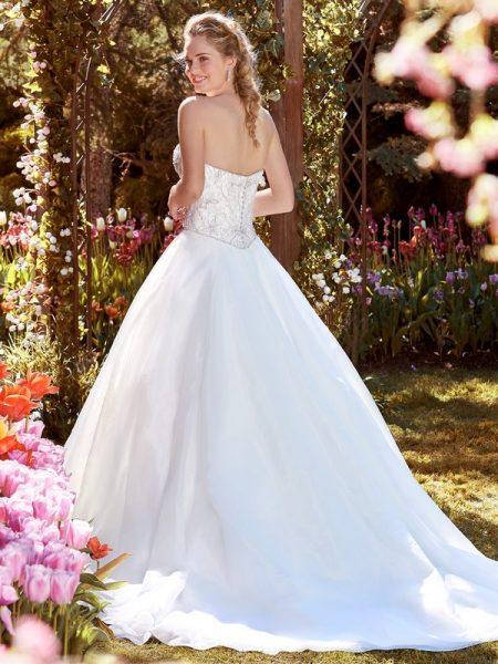 Back of Judith Wedding Dress from the Rebecca Ingram Juniper 2018 Bridal Collection