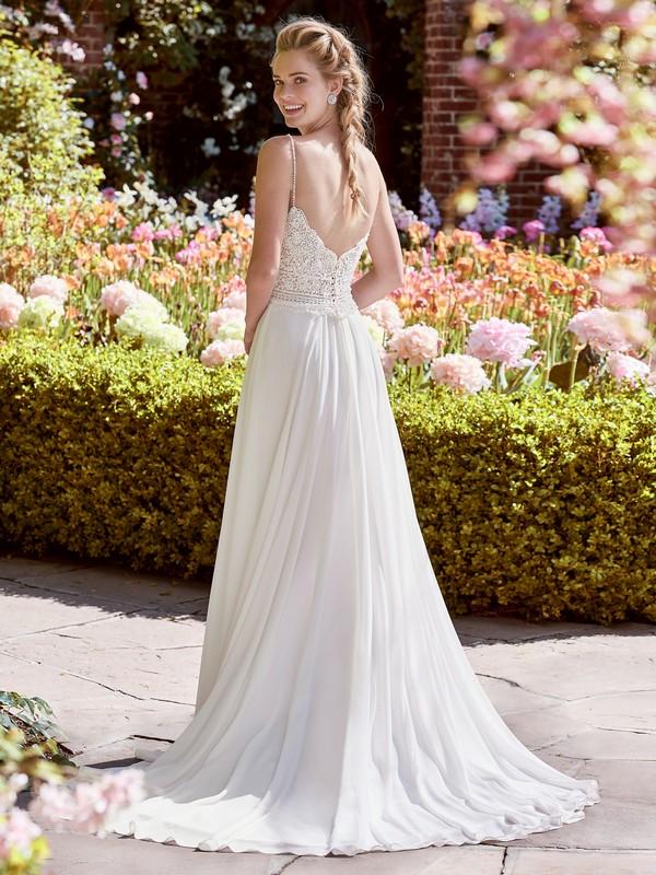 Back of Juniper Wedding Dress from the Rebecca Ingram Juniper 2018 Bridal Collection