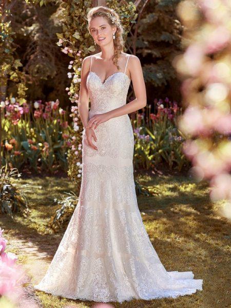 Karla Wedding Dress from the Rebecca Ingram Juniper 2018 Bridal Collection