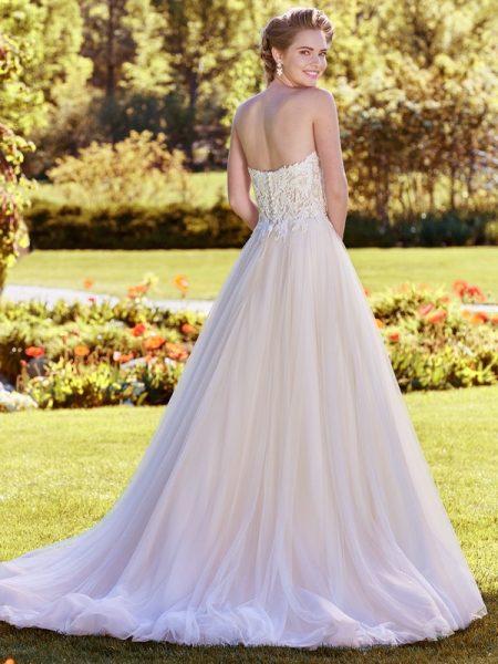 Back of Lavonne Wedding Dress from the Rebecca Ingram Juniper 2018 Bridal Collection