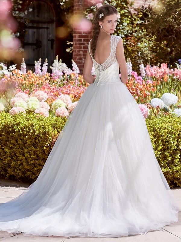 Back of Leanne Wedding Dress from the Rebecca Ingram Juniper 2018 Bridal Collection