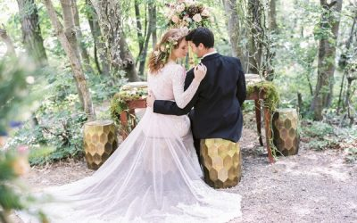 A Midsummer Night's Dream Inspired Wedding Styling