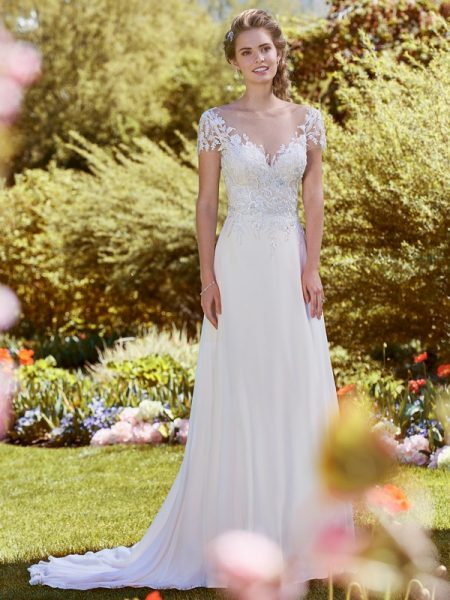 Mercy Wedding Dress from the Rebecca Ingram Juniper 2018 Bridal Collection