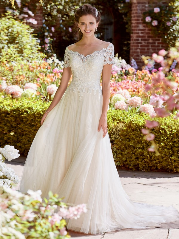 Michelle Wedding Dress from the Rebecca Ingram Juniper 2018 Bridal Collection