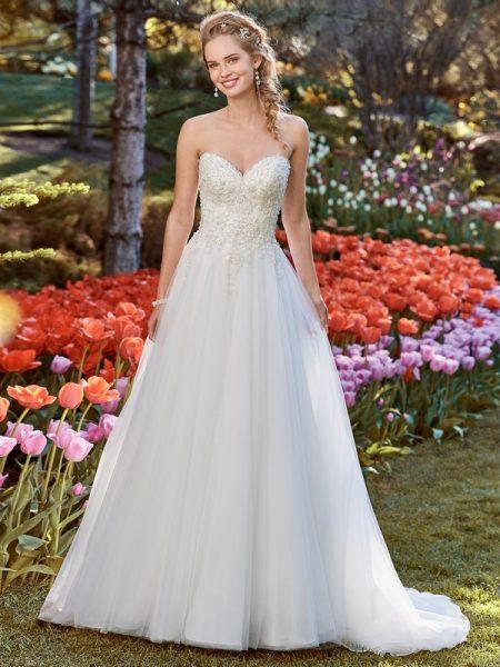 Muriel Wedding Dress from the Rebecca Ingram Juniper 2018 Bridal Collection