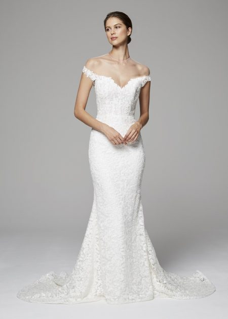 Nicolette Wedding Dress from the Anne Barge Fall 2018 Bridal Collection