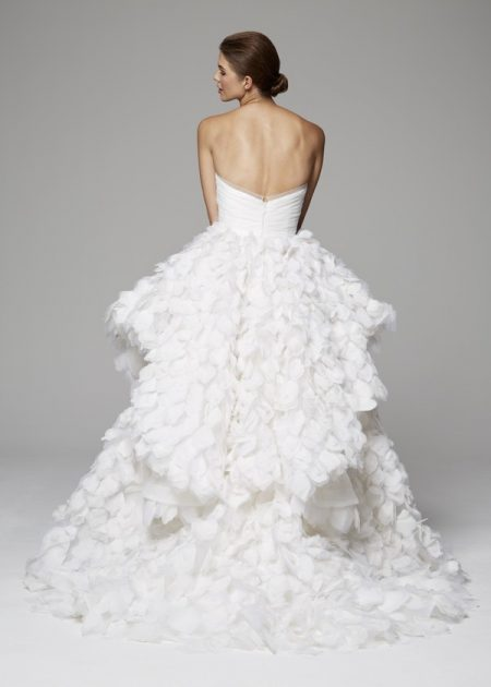 Back of Opal Wedding Dress from the Anne Barge Fall 2018 Bridal Collection