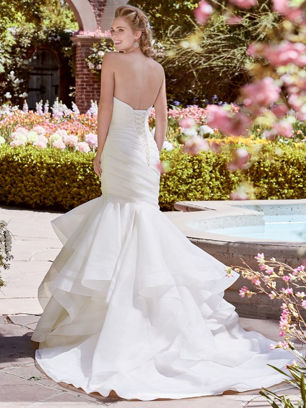 Back of Patsy Wedding Dress from the Rebecca Ingram Juniper 2018 Bridal Collection