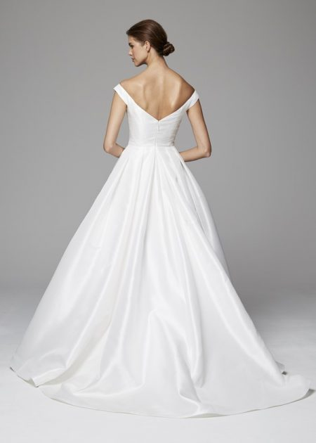 Back of Sloane Wedding Dress from the Anne Barge Fall 2018 Bridal Collection