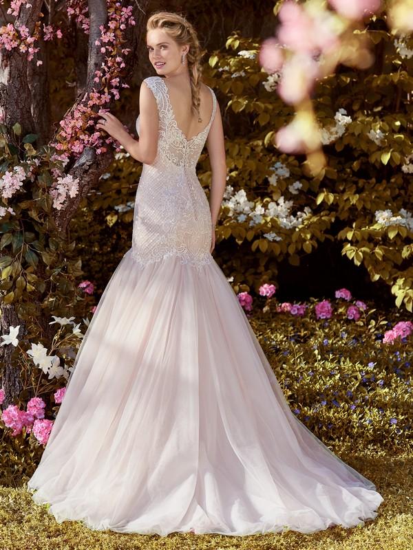 Back of Zelda Wedding Dress from the Rebecca Ingram Juniper 2018 Bridal Collection