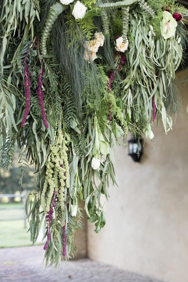 Hanging foliage