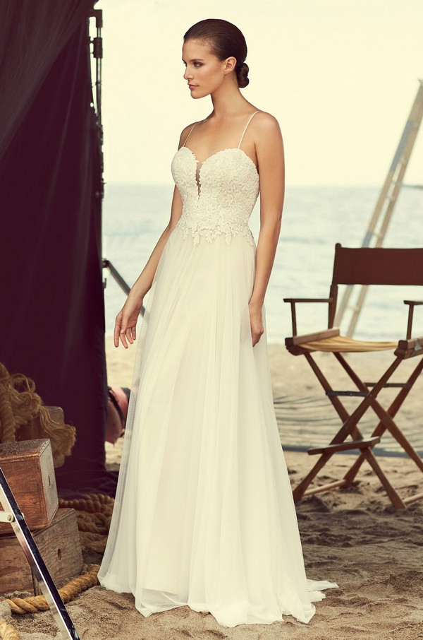 2180 Wedding Dress from the Mikaella Spring 2018