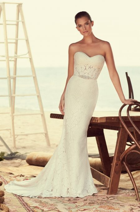2182 Wedding Dress from the Mikaella Spring 2018