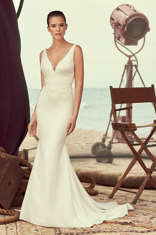 2184 Wedding Dress from the Mikaella Spring 2018