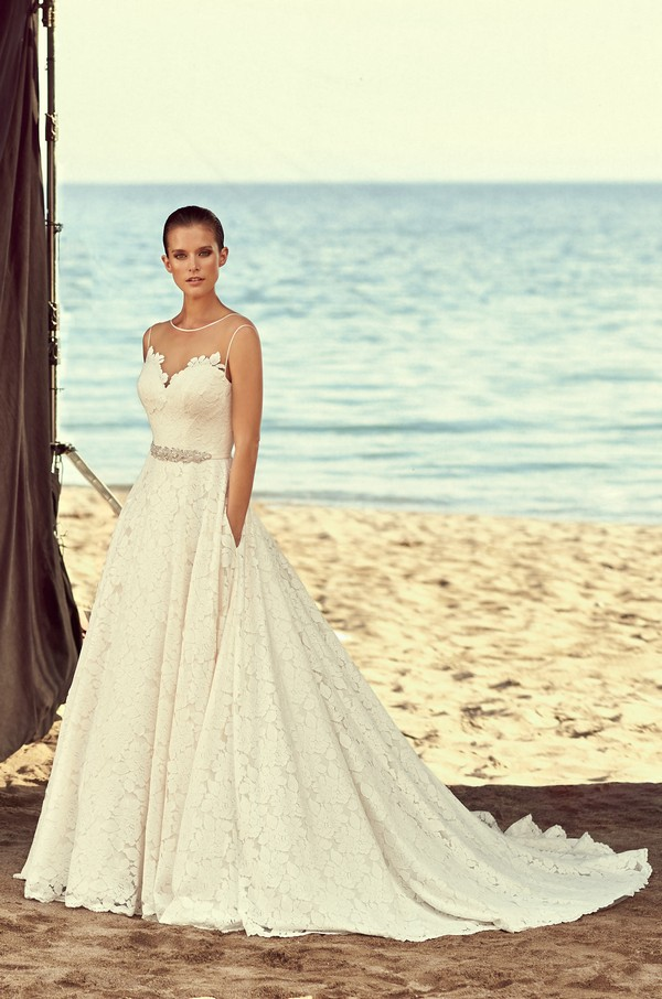 2188 Wedding Dress from the Mikaella Spring 2018