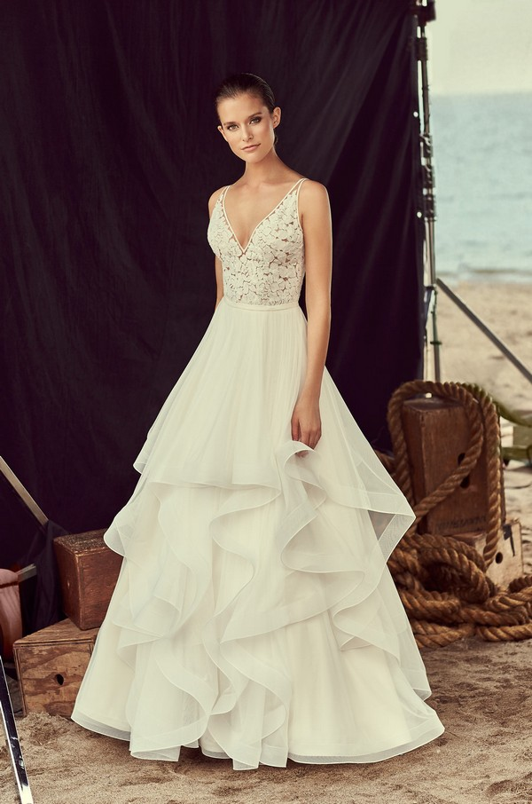 2191 Wedding Dress from the Mikaella Spring 2018