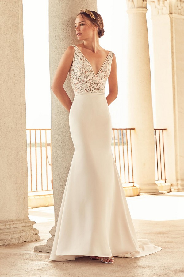 4787 Wedding Dress from the Paloma Blanca Spring 2018 Bridal Collection