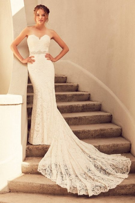 4797 Wedding Dress from the Paloma Blanca Spring 2018 Bridal Collection